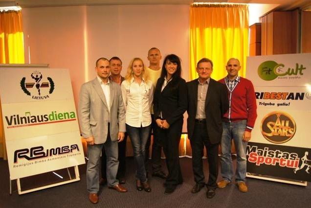 Vilniuje vyko kultūrizmo ir fitnio trenerių seminaras