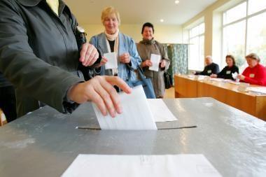 Vilniečiai kviečiami balsuoti iš anksto