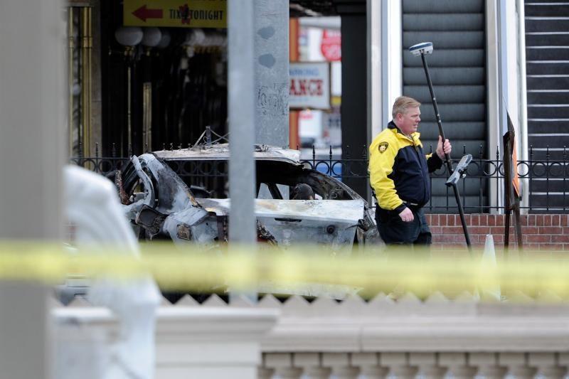 Las Vegase per susišaudymą iš automobilių žuvo trys žmonės