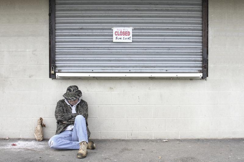 Savivaldybė ragina neduoti išmaldos benamiams