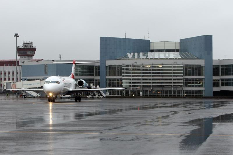 Sostinės oro uoste įkliuvo nusikaltimo padarymu įtariamas klaipėdietis