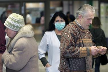 Klaipėdoje siūloma atšaukti gripo epidemiją