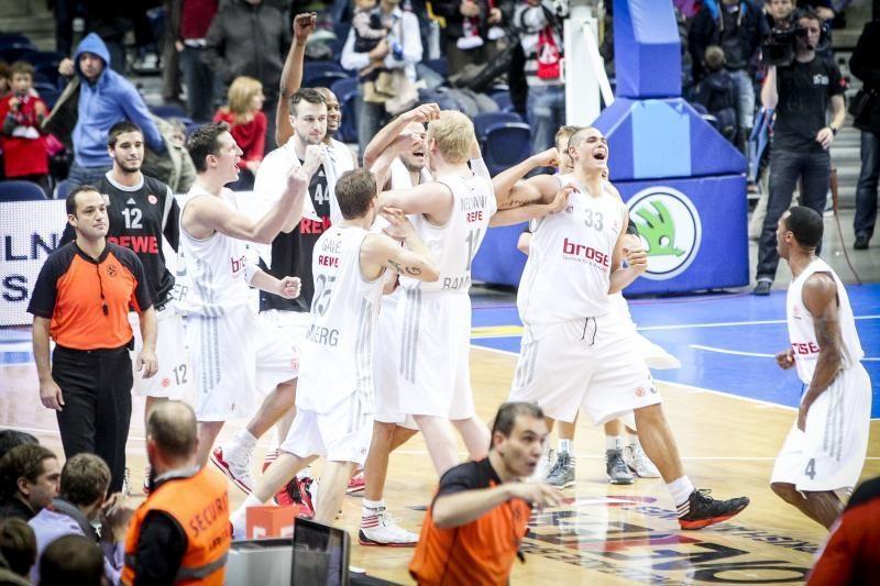 """""""Brose Baskets"""" treneris prieš dvikova su """"Žalgiriu"""": norime laimėti"""