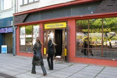 K.Rimšelio rinkimų štabas - buvusiame restorane