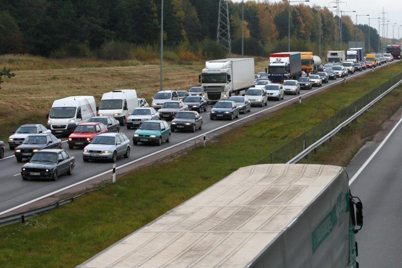 Magistralės Kaunas–Klaipėda ruožuose didinamas leistinas greitis