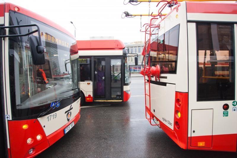Ieškinį dėl streiko viešojo transporto atstovai laiko nepagrįstu