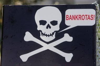 Lietuviui verslininkui bankrotas – lyg pasaulio pabaiga