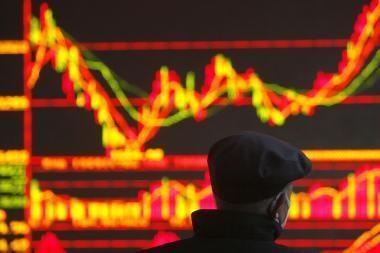 Investuotojai nelinkę rizikuoti dėl problemų Europoje