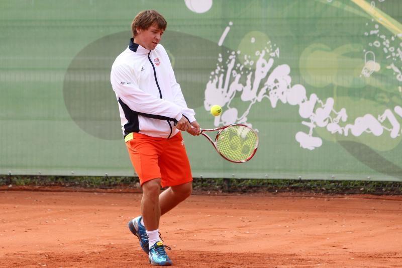R.Berankis aštuntfinalyje pralaimėjo Belgijos tenisininkui