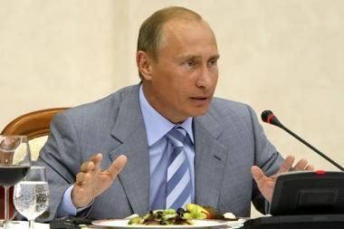 V.Putino kalboje – kaltinimai ir bauginimai