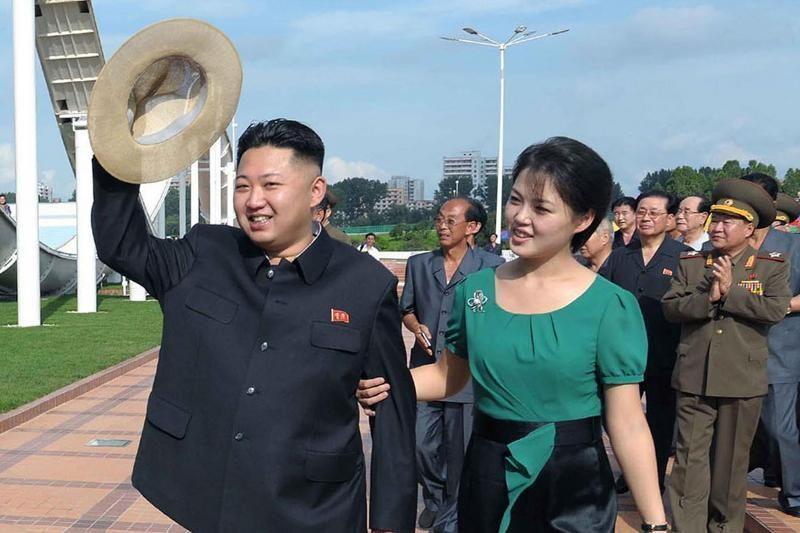 Šiaurės Korėjos lyderio Kin Jong Uno žmona - buvusi dainininkė