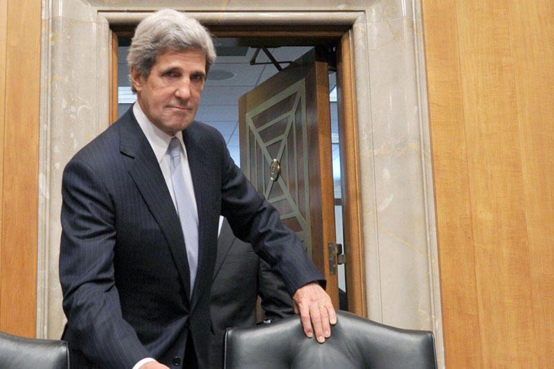 JAV telkia koaliciją smūgiams Sirijoje