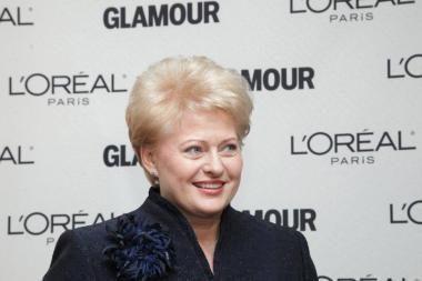 Prezidentei įteiktas Metų moters apdovanojimas pasaulio moterų lyderių kategorijoje