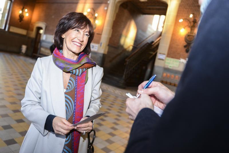 Belgai balsuoja vietos valdžios rinkimuose