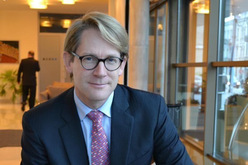 M.Pfitzeris: manau, kad verslas turi investuoti į visuomenę