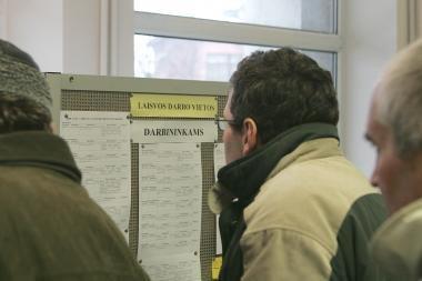 Per savaitę - daugiau nei 800 naujų bedarbių
