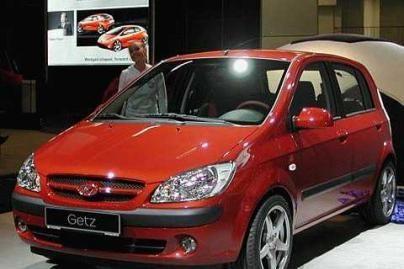 """Naujas """"Hyundai Getz"""