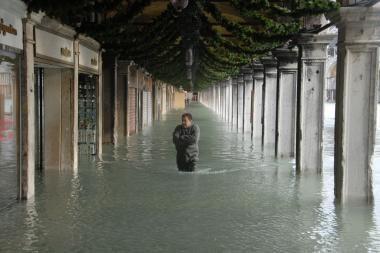Venecija ruošiasi dideliam potvyniui