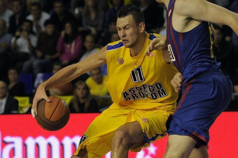 Lenkijos krepšinio čempionui D.Motiejūnas pelnė 11 taškų
