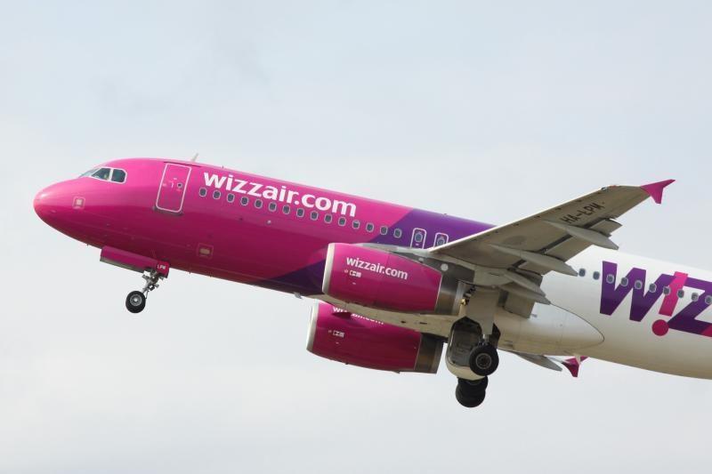 """""""Wizz Air"""" iš Vilniaus skraidys 4 naujomis kryptimis"""