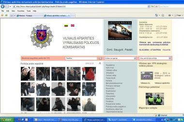 Policija vėl prašo pagalbos ieškant riaušininkų