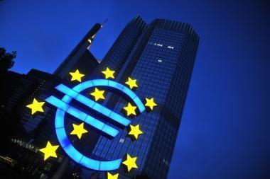 Euro palūkanos gali dar mažėti