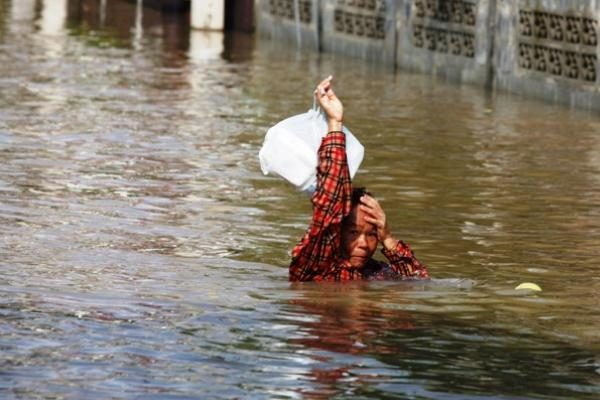 Tailande per dvi savaites potvyniai nusinešė 57 žmonių gyvybes