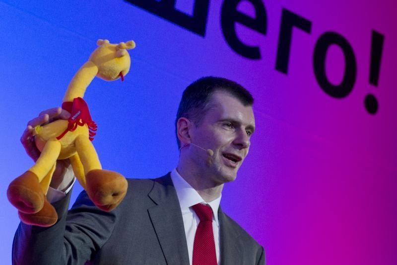 M.Prochorovas pasiekė netikėtą politinį proveržį