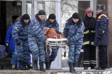 Ukraina: per sprogimą ligoninėje žuvo mažiausiai 5 žmonės