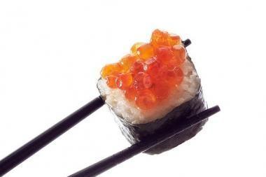 Lietuvoje M.Saakašvilis mėgavosi japoniškais patiekalais
