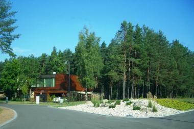 Gyvenamieji namai pastatyti užgrobus mišką