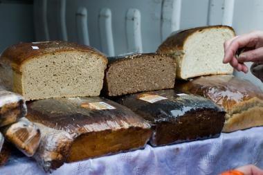 Lapkritį brango kruopos, juoda duona, šokoladas