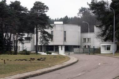 Nuo Vyriausybės svečių namų Žvėryne bus atskirtas valstybinis miškas