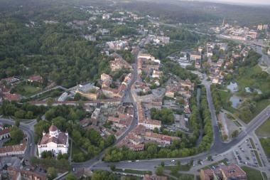 Vilniuje kuriamas naujas kvartalas prie Vilnios krantų