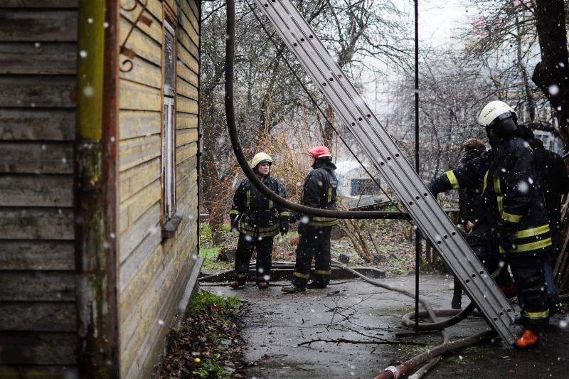 Per gaisrus  Lietuvoje  žuvo du žmonės