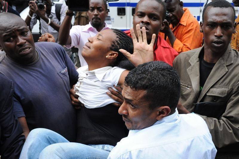 Kenijoje prasidedančius rinkimus aptemdė kruvinas incidentas