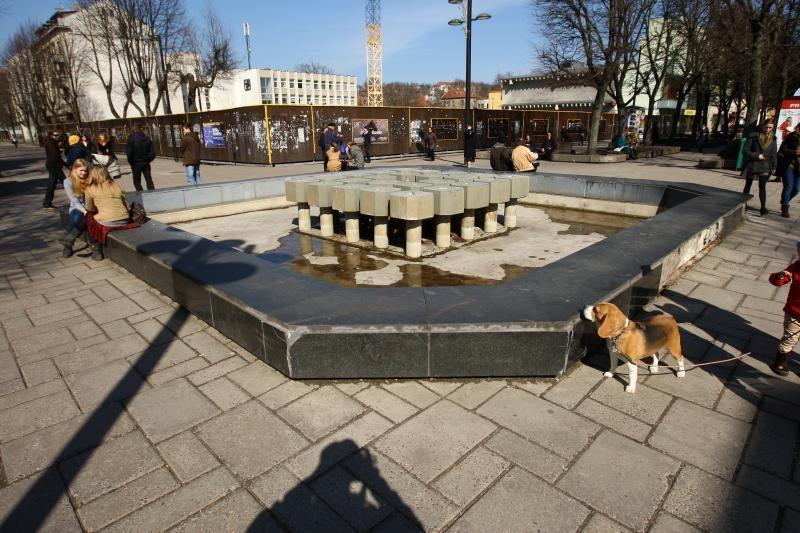 Balandžio pabaigoje Kaune vėl atgis fontanai