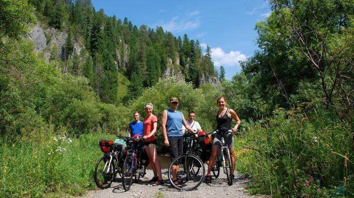 Klaipėdoje rodys filmą apie dviračių entuziastus, įveikusius Altajų