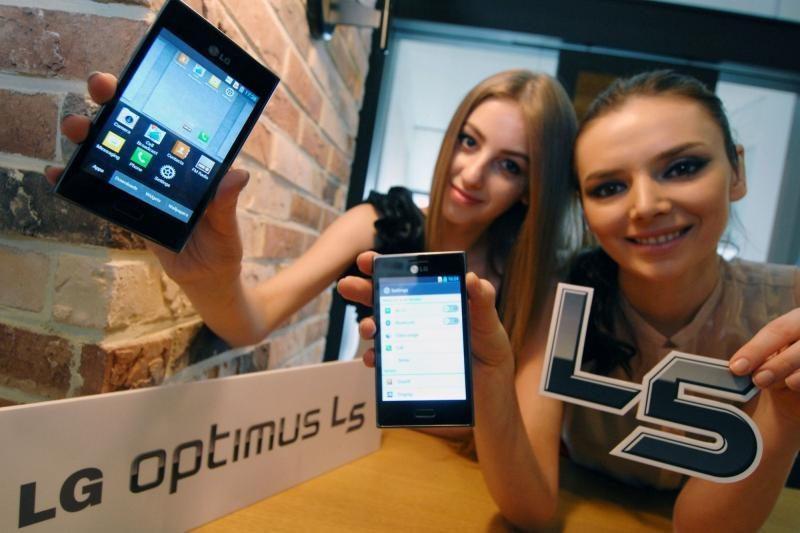 """Lietuvoje – trečiasis """"L-Style"""" serijos telefonas """"LG Optimus L5"""""""