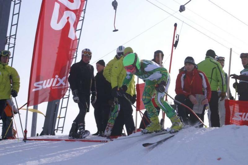 Kalnų slidininkų varžybos – ir Lietuvoje, ir Latvijoje
