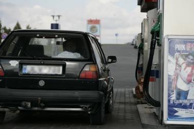 Vairuotojas nesumokėjo už degalus