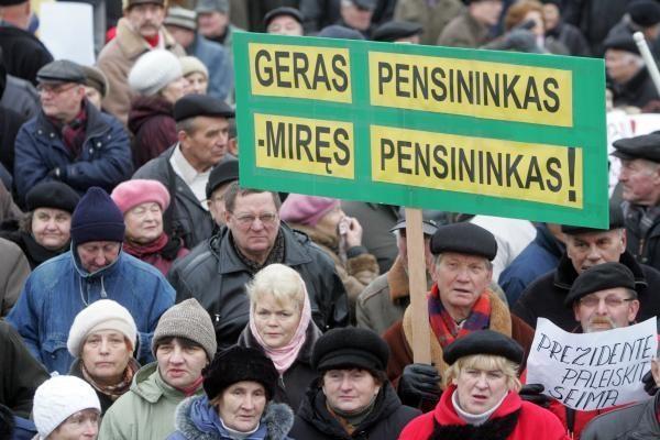 D.Jankauskas: pensinio amžiaus ilginimas neišvengiamas