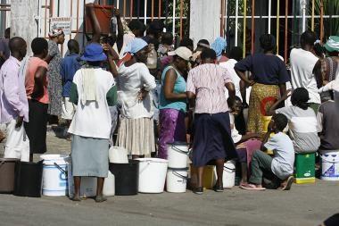 Ligų nualinta Zimbabvės sostinė - be vandens
