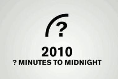 Pasaulio pabaigos laikrodis vėl tiksi
