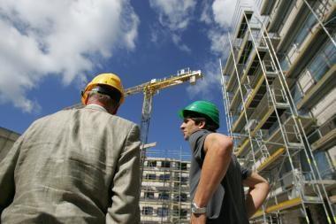 Vilniuje statomas naujas namų kvartalas