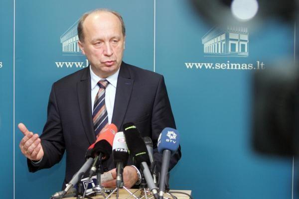A.Kubilius: opozicija irgi turi jausti atsakomybę už valstybės finansus