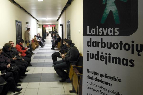 Kauno regione – didesnis nedarbas nei Vilniuje ir Klaipėdoje