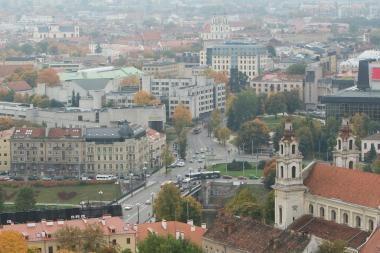 Vilniuje daugės iškiliųjų perėjų