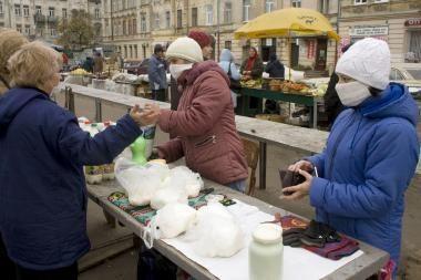 Ukrainiečiai kelia sąlygas Lietuvai, norinčiai jiems suteikti humanitarinę pagalbą