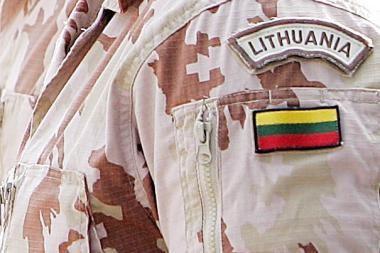 Tauragėje - į misiją Afganistane išvykstančių karių išlydėtuvės